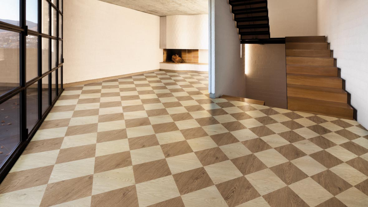 Can vinyl flooring be laid over tile