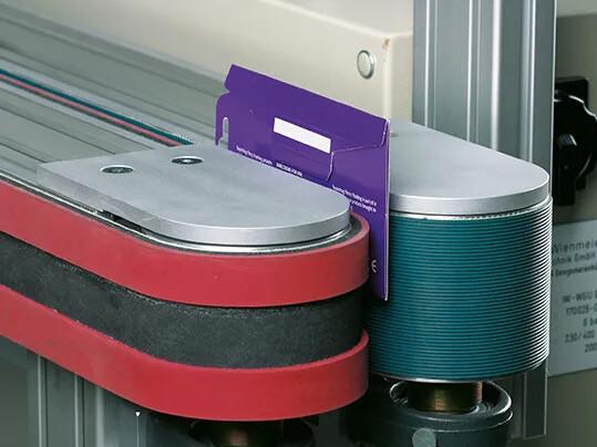 Folder and Carrier Belts