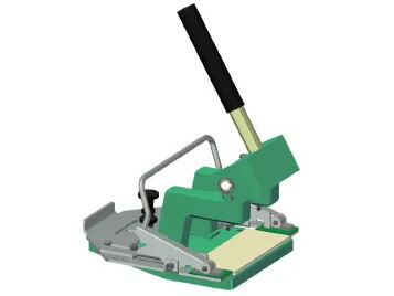 Punch press for Z-splices
