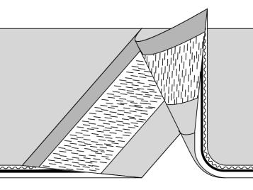 Bonded splicing procedure