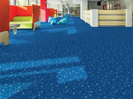 Flotex flocked flooring - Education