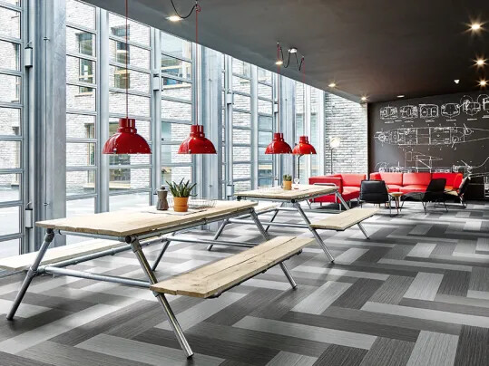 Flotex - der leistungsstarke Textilboden: Flotex Planks