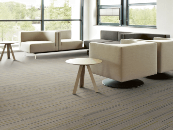 Flotex Linear flocked flooring