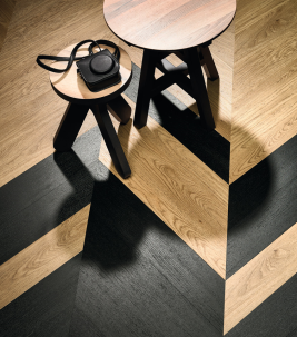 Allura luxury vinyl tiles and planks Hungarian point