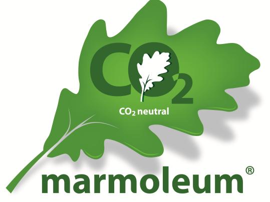 C02 neutral marmoleum