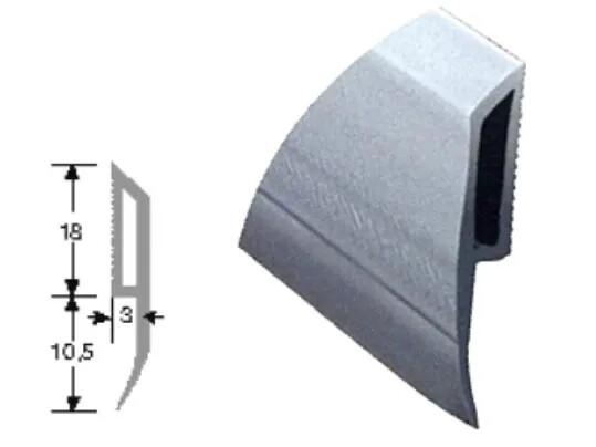 Profilé de finition anti-choc