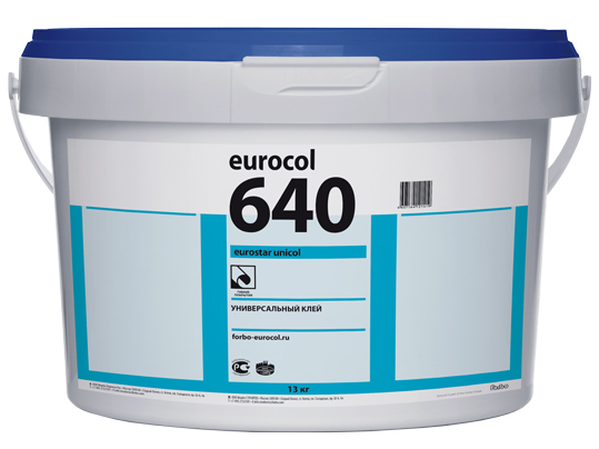 Eurocol_640 Eurostar Unicol универсальный клей