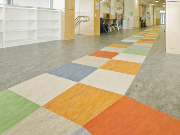 Burnside Primary South Australia Marmoleum