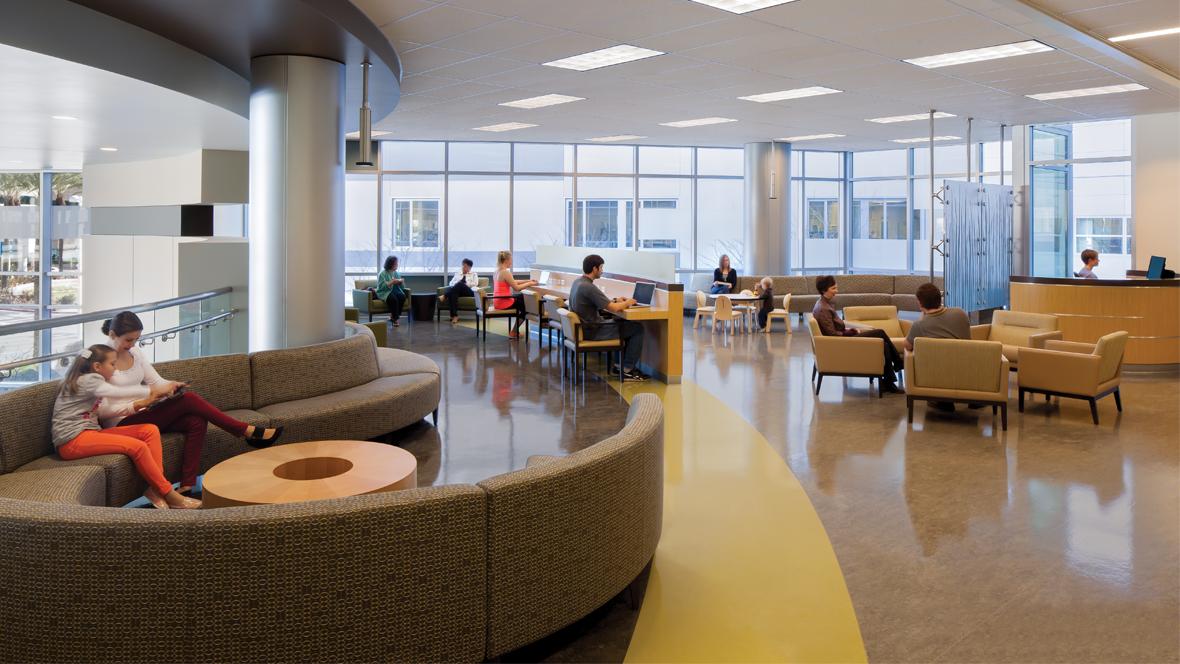 Photo Of Fontana Hospital Waiting Room