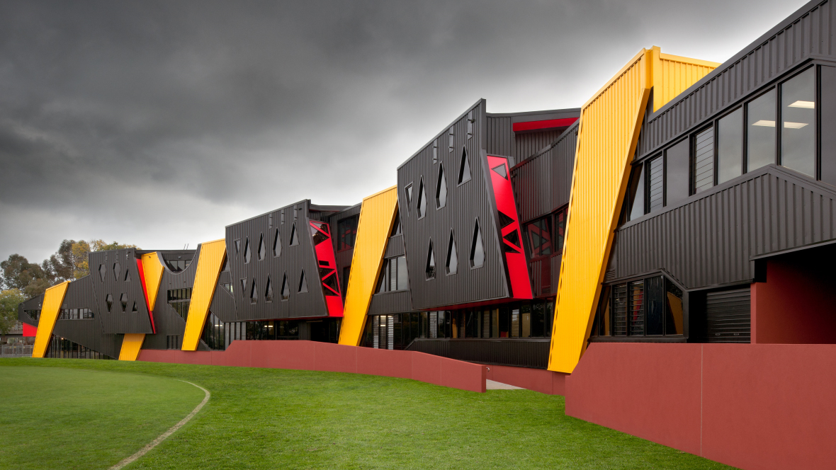 Punt RD Oval, Richmond Tigers - Suters Architects