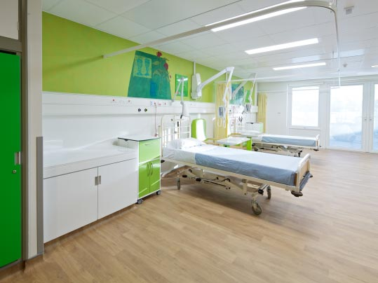 Healthcare flooring - Vinyl Flooring Hospital rooms