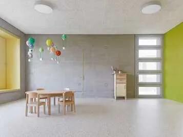 Marmoleum im Kindergarten
