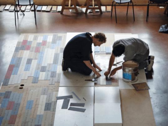 Revêtement de sol Pose sol PVC pose non collée Modul'up | Forbo Flooring Systems