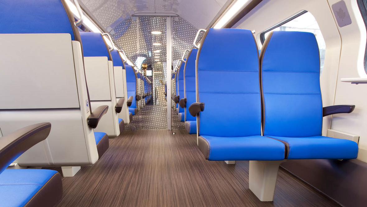 Marmoleum FR Dutch Railways