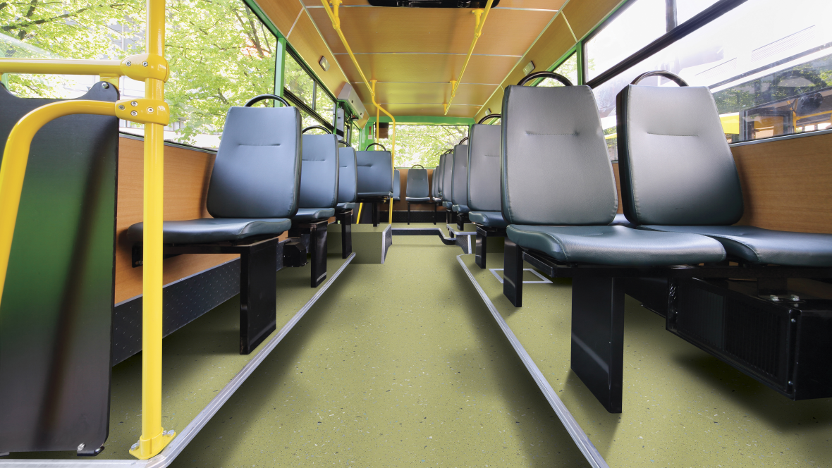 Transport flooring for Bus & Coach