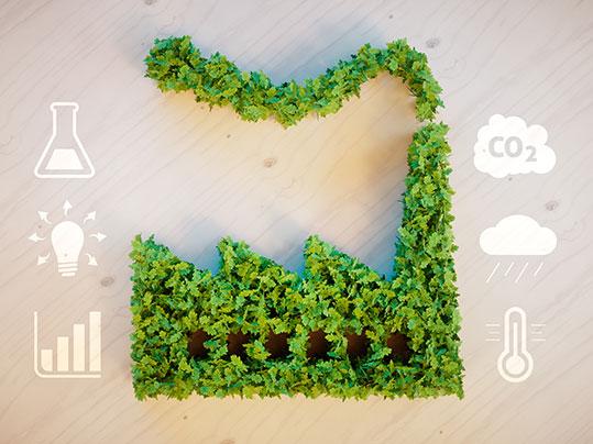 Umweltfreundliche Produktion