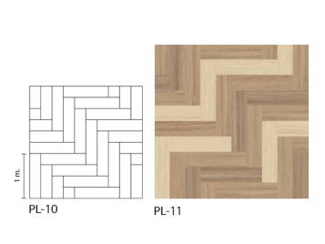 Marmoleum Modular grids