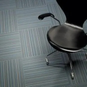 Flotex linear carpet tiles