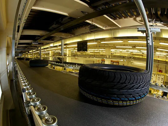 Tire transport - Reifenindustrie