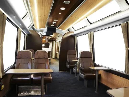 Kiwi Rail tågvagn med golv från Forbo Flooring Systems