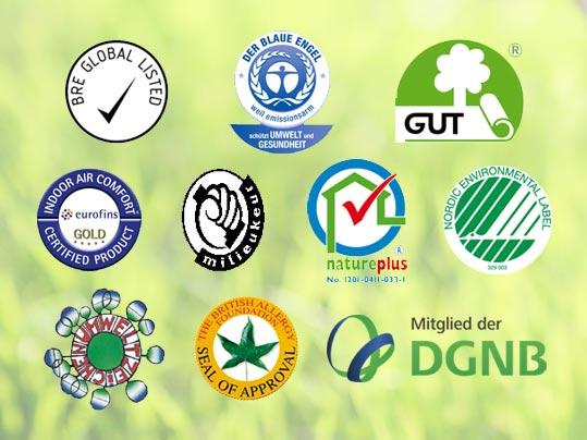 Forbo Internationale Umweltsiegel