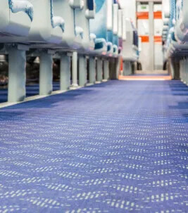 Translink NI Rail - Flotex FR carpet