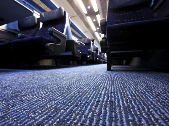 East Midlands Trains Tessera - dalles textiles sol pour trains