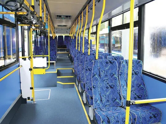 Bus & Coach Step safefy vinyl flooring