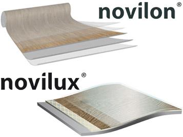 Novilon und Novilux Produktaufbau
