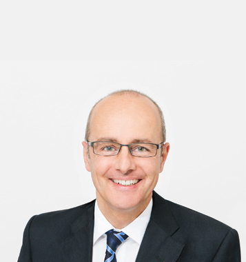 Portrait photograph of  Vincent Studer, member of the Board of Directors at Forbo