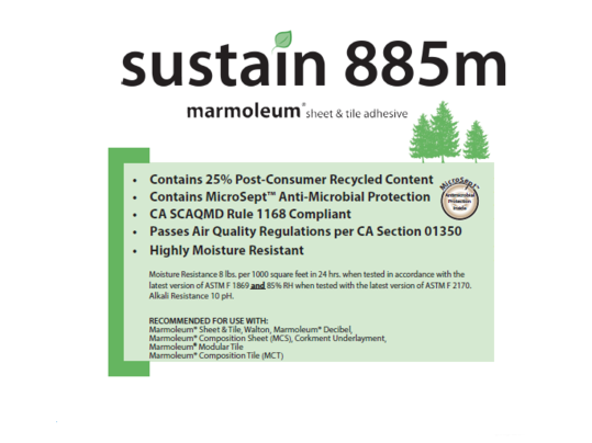 Sustain 885m Adhesive