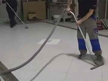 Cleaning Maintenance Video Page Forbo Flooring Systems - How to clean marley floor