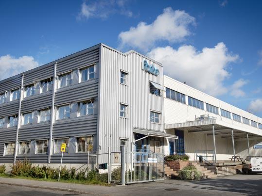 Säljkontor och distributionsdepå i Stockholm