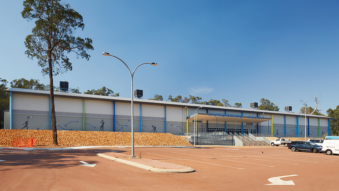 Mundaring arena outside shot