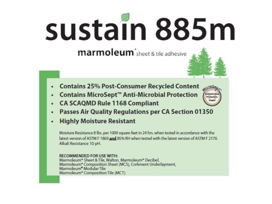 Sustain 885m
