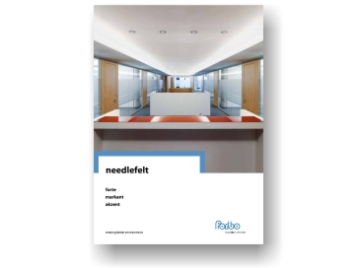 Needlefelt cover brochure