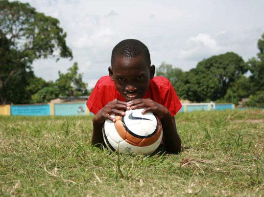 Kimunu på Centre Formation Gothia Cup i Brazzaville