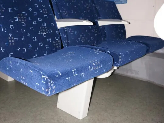 Russian Railways tågvagn med golv från Forbo Flooring Systems