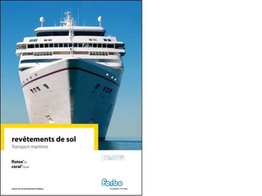 Brochure transport maritime