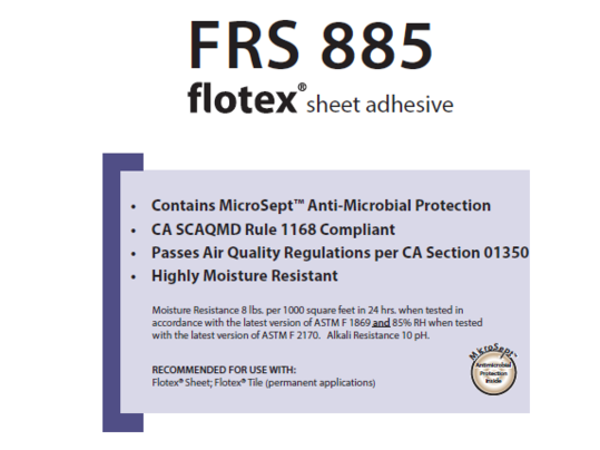 FRS 885 Adhesive