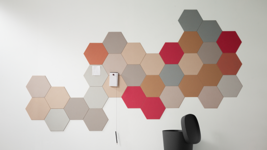 Bulletin Board Hexagon