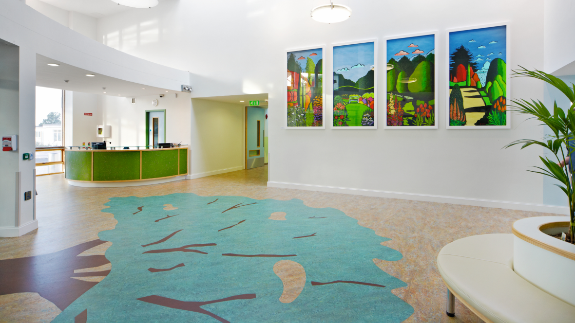 Comflooring Design Group : Comflooring Design Group : Aquajet Linoleum flooring Forbo Flooring ...