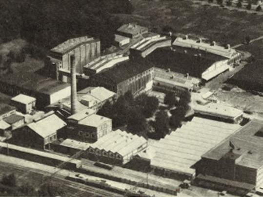 Linoleum sedan 1863