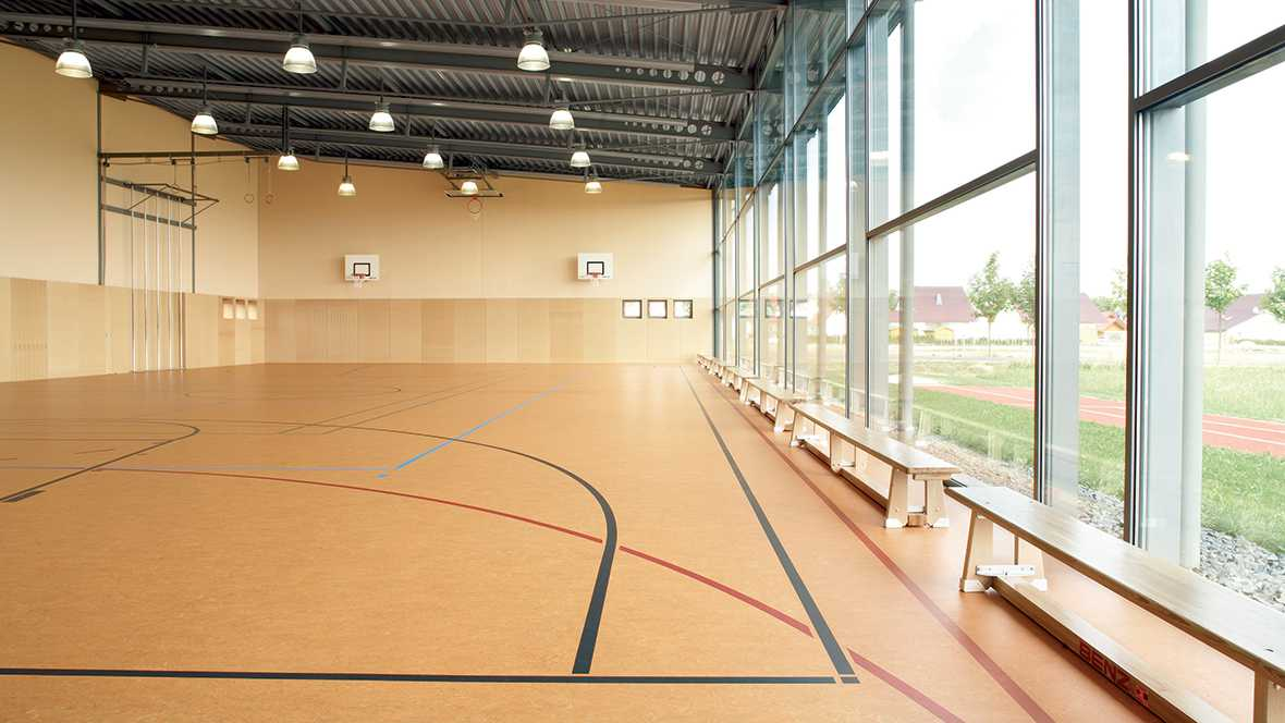 Linoleum sports floors | Forbo Flooring Systems
