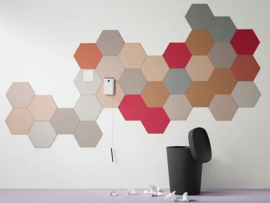 Bulletin Board 2210-2207-2166-2162-2206-2182-2187-2186 HEXAGON