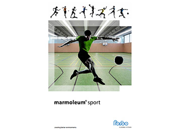 Folleto Marmoleum Sport