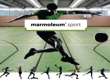 Marmoleum Sport broşürü