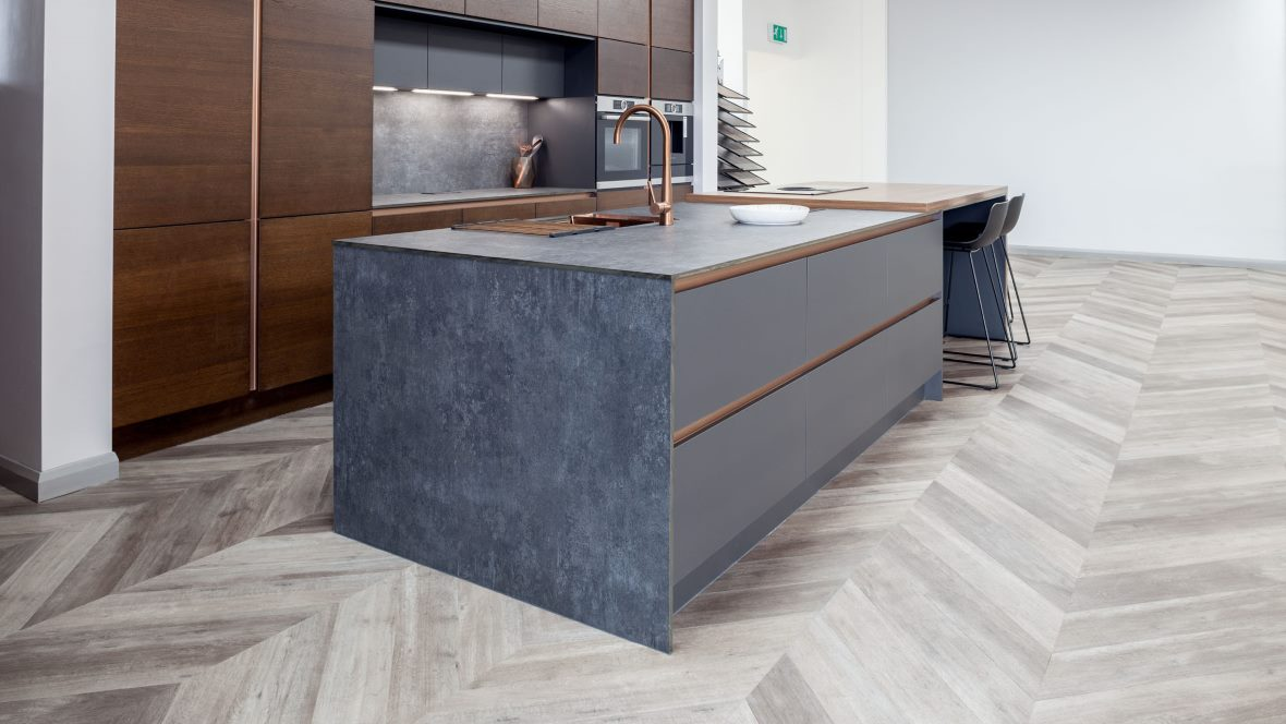 Yorkshire Kitchens Allura Wood Grey Autum Oak