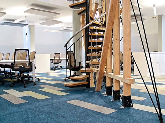 Flotex - der leistungsstarke Textilboden: Referenz Le Village by CA Provence
