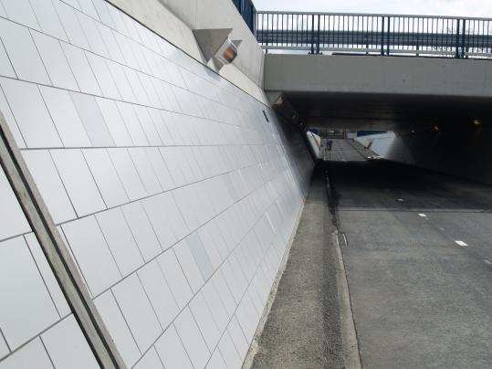 Fietstunnel Wormerveer